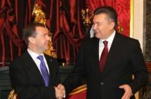 Медведєв і Янукович зустрілися. На черзі – Азаров і Путін