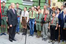 У Тернополі встановили меморіальну дошку Івану Гавдиді