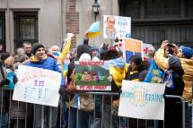 Українці Нью-Йорку підтримують євромайдан