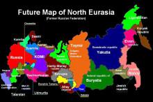 Майбутня шокова географія розпаду Російської Федерації