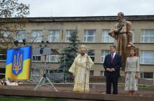 Пам'ятник Митрополиту Шептицькому у Львові відкривали з Президентом