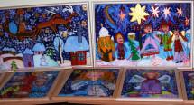 """У Львові відкрили виставку дитячого мистецтва """"Різдвяний ангел"""" (фото)"""