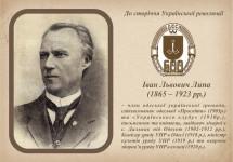 В Одесі прочитають цикл лекцій до 100-річчя Української революції і випустять тематичні календарі