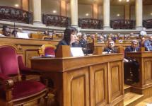 Посол України виступила на конференції, з якої втік російський посол