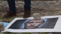 Українці Португалії прогнали російського посла з безпекової конференції (фото)