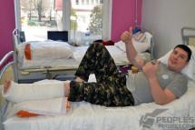 Лікарі відновили захисникові ДАП ногу фактично «з нічого»