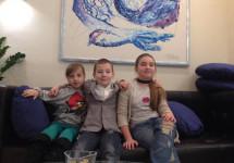 Діти учасників АТО взяли участь у фотосесії для модного журналу «Джулія Моделс» (фотогалерея)