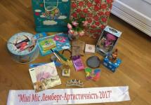 Діткам учасників АТО подарували  грошові призи на конкурсі «МініМіс та МініМістер Лемберг-2017»