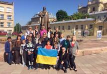 Діти учасників АТО та Героїв Небесної Сотні виїхали на відпочинок у Литовську Республіку