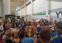 Українці Канади підтримують національну збірну України на Іграх Нескорених-2017