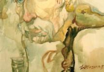 Світлій памяті визначного українського бандуриста і художника. В  70-ліття смерті Юрія Сінгалевича.