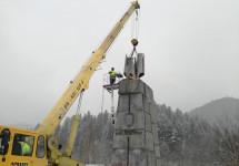 У Польщі зносять пам'ятник комуністичному генералові, якого знищила УПА