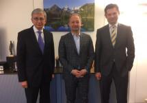 Президент СКУ зустрівся з державними високопосадовцями Австрії