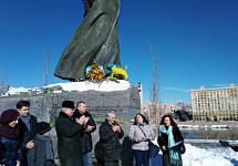 Вшанування Великого Кобзаря у Москві