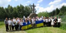Поранені фронтовики прибули в український відпочинковий табір у Бельгії