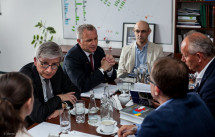 Президент Світового Конґресу Українців зустрівся з заступником голови ІНП Польщі