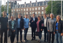 У Гаазі відбулася зустріч української діаспори з народними депутатами України