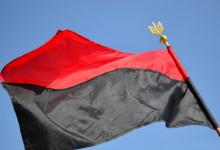 Червоно-чорний стяг у Сумах!