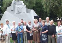 На Полтавщині в'язні совісті вклонилися Національним Святиням