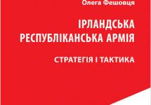 Про стратегію і тактику Ірландської республіканської армії – українською
