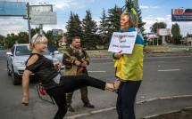 «Свобода має кольори» – зустріч із патріотом України  та волонтером Іриною Довгань