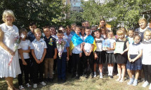 Дітям учасників АТО зробили свято у Полтаві