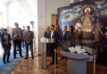 У Верховній Раді відкрилася виставка про причини і наслідки Голодомору
