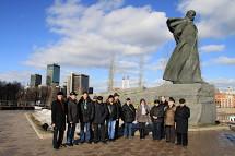 Українські організації Москви уклонилися Кобзареві