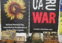 """""""Блокпост пам'яті"""" – мандрівна виставка про війну"""