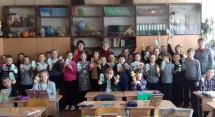 Полтавські гімназисти й «Жіноча громада»  передали   подарунки Героям на Великдень