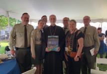 Сумівці привітали новопоставленого митрополита Філадельфійського УГКЦ