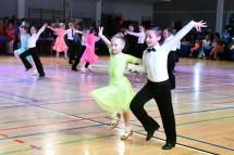 Українка перемогла у Загальнополському турнірі бальних танців