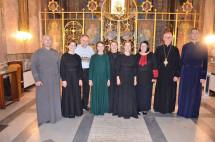 Українську парафію свв. Сергія і Вакха в Римі відвідав родинний гурт Гребеняків «Зе́рно»