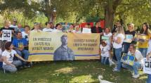 Флешмоб на підтримку Віталія Марківа в італійському місті, де він прожив 9 років