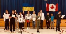 Свято УПА та вшанування борців за волю України у школі ім.Юрія Липи у Торонто