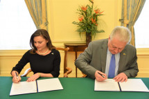 Українка стала почесним консулом у Пенсильванії