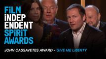 Фільм українських продюсерів Give me liberty отримав приз на Independent Spirit Awards