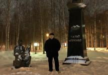 Шевченківський флешмоб 2020 – пам'ятник Шевченку в Сургуті