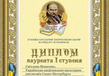 Другий Міжнародний Шевченківський конкурс-флешмоб