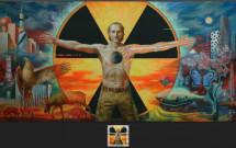 Українські художники вшанували образ Ліквідатора аварії на ЧАЕС