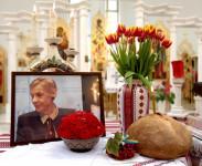 Прощання з Вірою Лавриненко-Гайдамахою