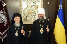 Митрополит Епіфаній про візит Вселенського Патріарха Варфоломія