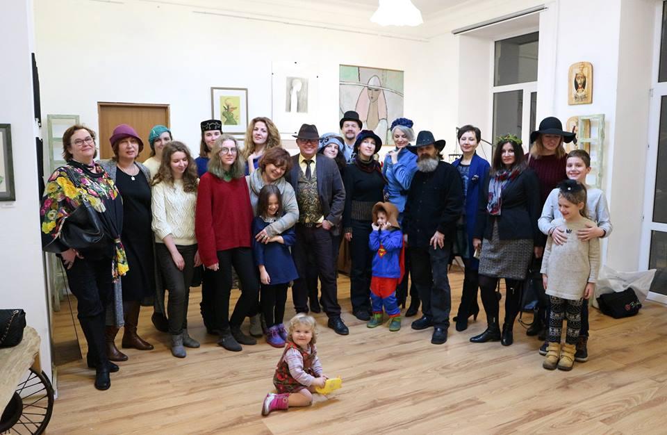 Гуртове фото гостей вечірки