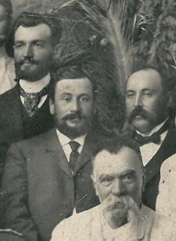 ВІдкриття памтника Котляревському-Дмитрієв другий зліва направо