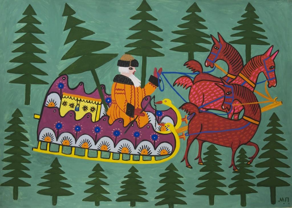 М.П. Дід мороз 1977