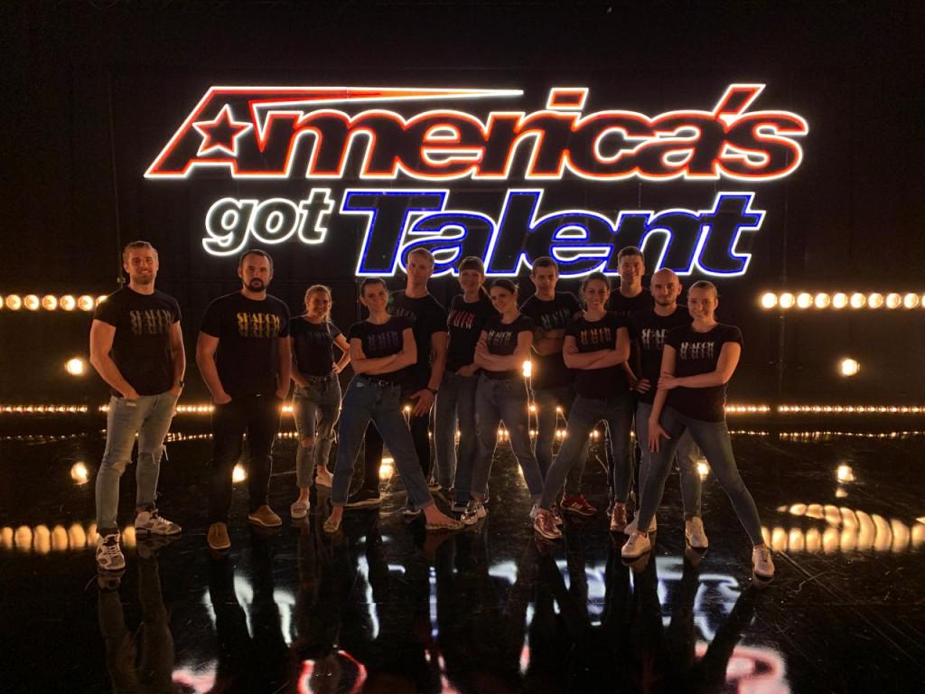 Театр теней Verba на America's Got Talent(1)