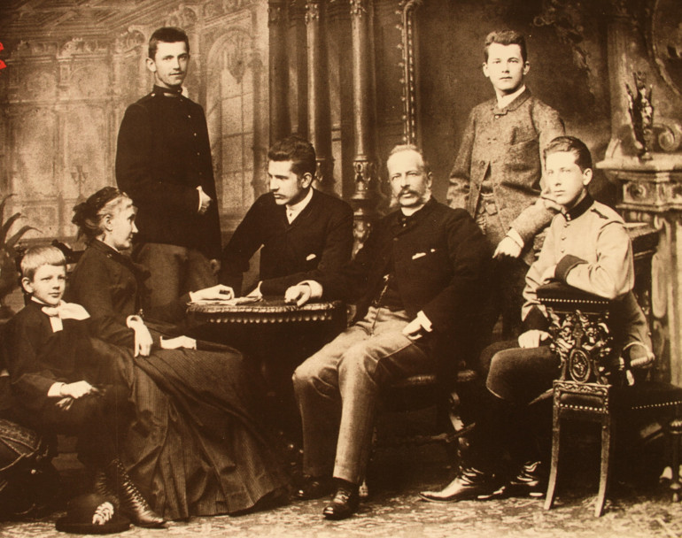 Родина Шептицьких. 1888 рік. Прилбичі