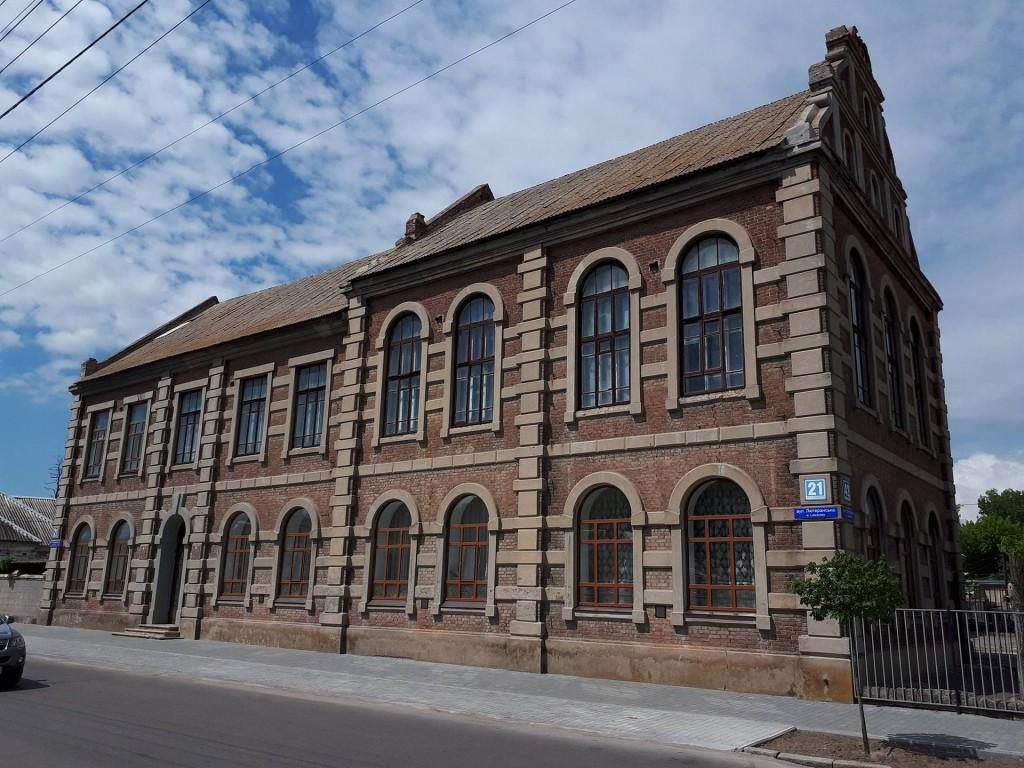 Будинок, де містилася Бердянська Просвіта
