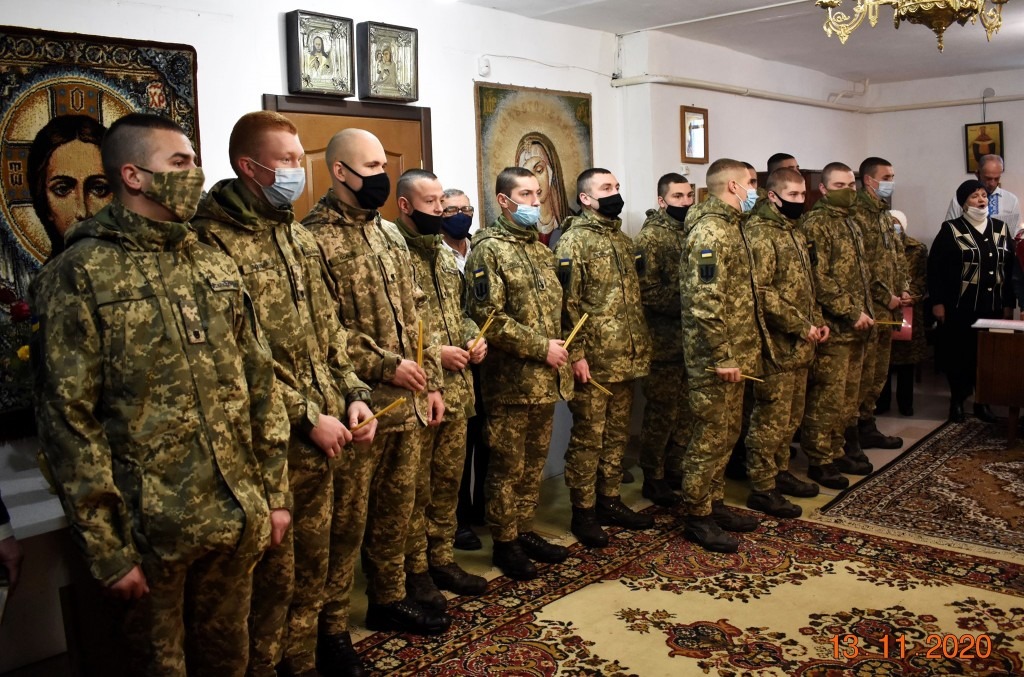 літургію на честь Калнишевського відвідали курсанти Полтавського війскового коледжу