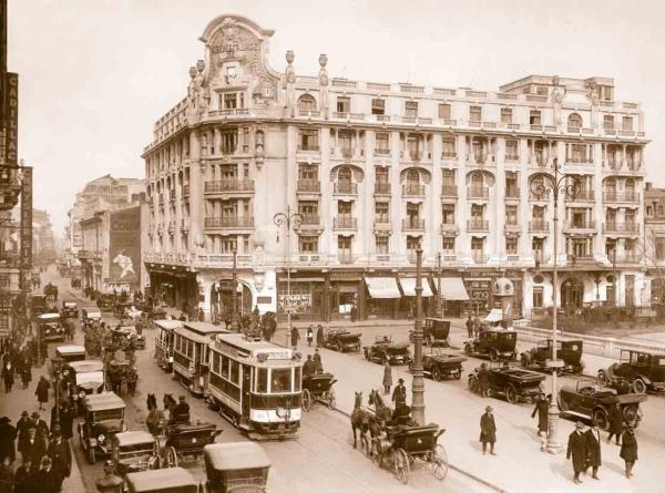 5. Готель Athenee Palace в Бухаресті, де в 1920-1923 рр. мешкав Остроградський